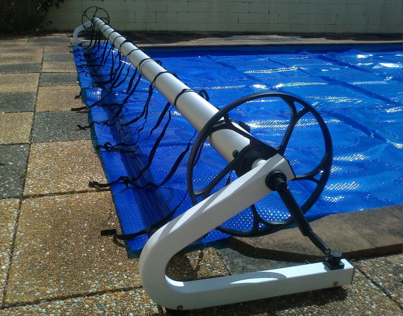 swimming pool cover roller up to 7m